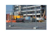 Clôture de chantier standard