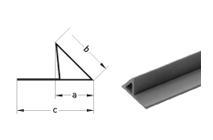 Liteaux triangle creux à bavette
