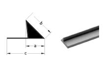 Liteaux triangle plein à bavette